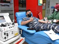 TNI Angkatan Laut Peduli Covid-19. Sekolah Tinggi Teknologi Angkatan Laut Aksi Donor Plasma Konvalesen