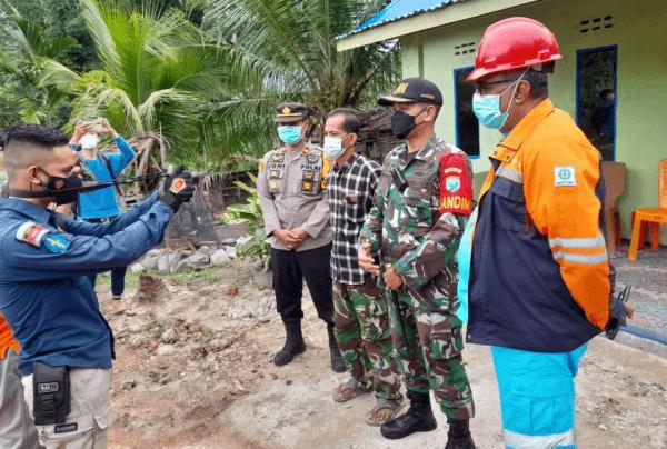 Dandim 1201 Mempawah Resmikan Rumah Layak Huni untuk Warga di Desa Bukit Batu