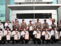 Polresta Tangerang Gelar Upacara Penghargaan untuk 21 Anggota Berprestasi