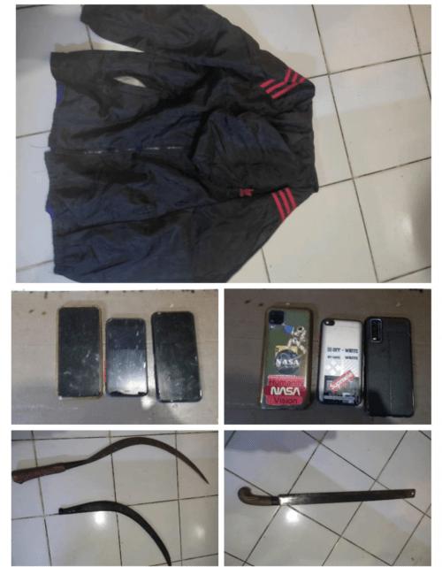 Polresta Tangerang Ringkus Pelaku Penganiayaan dengan Sajam