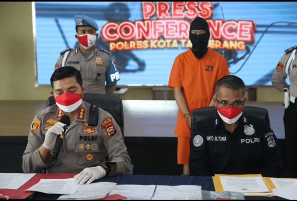Pemalsu Surat Keterangan Hasil Swab Tes Antigen Palsu Di Bekuk Polresta Tangerang