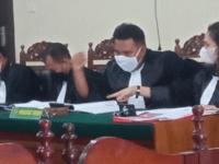 Kuasa Hukum Roni Panjaitan SH Lakukan Pembelaan Kepada 3 Klien Sidang Tipikor Dana Desa Samangon