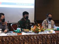 Rapat Kesiapan PON XX Bareng Forkopimda Mimika, Kapolri: Perlu Langkah Extraordinary Cegah Covid-19