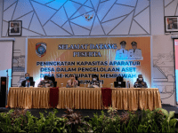 Hj. Erlina SH Pinta Pemerintahan Desa Untuk Inventarisasi dan Penertiban Aset Desa Di Kabupaten Mempawah