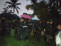 Dandim 1201/Mph Pimpin Upacara Pemakaman Militer, Babinsa Koramil 07/Mempawah Hulu