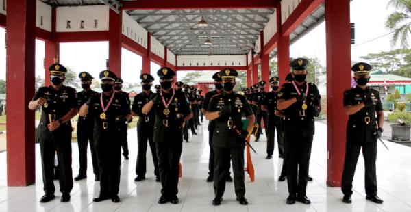 Pangdam XII/Tpr Tutup Pendidikan Pertama Tamtama TNI AD Gelombang I TA 2021