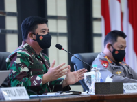 Panglima TNI dan Kapolri Beri Arahan Kepada Forkopimda Se Kalbar di Aula Makodam XII/Tpr