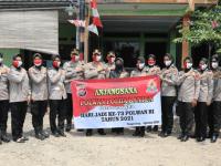 Polwan Polresta Tangerang Anjangsana Ke Purnawirawan