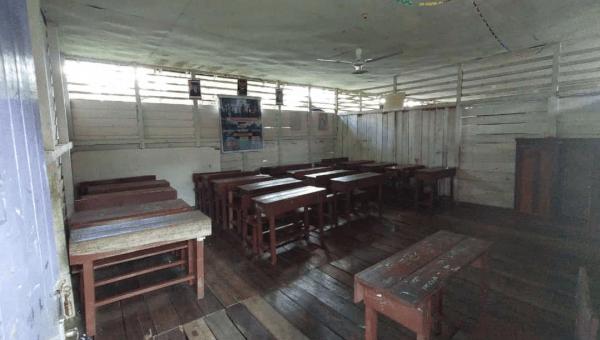 Kamijo Turun Langsung Melihat Kondisi Sekolah Yang Selama ini Luput Perhatian Pemerintah Daerah