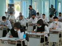LANTAMAL XII PONTIANAK LAKSANAKAN TEST KESEHATAN JIWA BAGI CASIS CABA dan CATA PK TNI AL GELOMBANG II TA. 2021