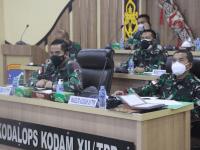 Waasops Kasdam XII/Tpr Ikuti Rakor Keamanan Perbatasan RI-Malaysia