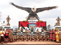 Pangdam XII/Tpr Dampingi Koorsahli Kasad Kunjungi Satgas Garuda Batalyon Gerak Cepat (BGC) XXXIX-C/MONUSCO