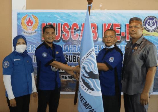 Arief Wahyudi ST. MT. Pimpin POSSI Kab. Mempawah Periode 2021-2025