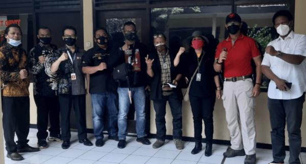 Forum Wartawan Jakarta Indonesia ( FWJI ) Gelar Aksi Demo
