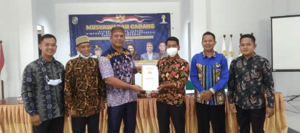 Denia Lantik BPC HIPMI Kabupaten Mempawah periode 2021-2024 Mewujudkan Cita Cita HIPMI Pembangunan Jasmani dan Rohani
