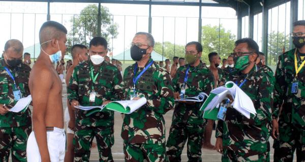 Kasdam XII/Tpr Pimpin Sidang Pantukhir Caba PK TNI AD Sumber Reguler
