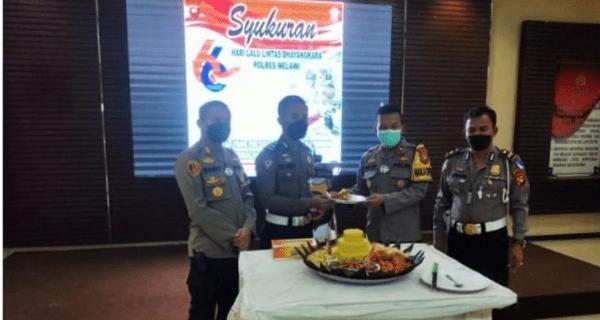 HUT Lalu Lintas ke-66, Satlantas Polres Melawi Raih Reward Dedikas dan Loyalitas