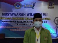 Susanto, SE. ME., Pimpin Kembali DPW LDII Prov. Kalbar Periode 2021-2025