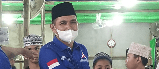 Sayuti, ST,MP Apreisiasi Kedatangan AHY Resmikan Kantor DPD Partai Demokrat Dengan Prokes Covid 19