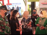 Dandim Mempawah Hadiri Gerakan vaksinasi Nasional Bagi Petani GAPKI KalBar