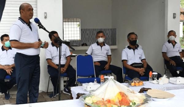 Komandan STTAL Resmikan Penggunaan Kantin Yudhistira STTAL