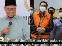 Azis Syamsuddin Ditahan KPK, Warga Lampung: Ahmad Bastian Kapan Ditangkap ?