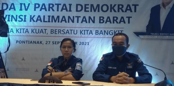 Ermin Elviani,SH dan Aron Calon Kuat Ketua DPD Partai Demokrat Kalbar Ini Penjelasan Erma Ranik