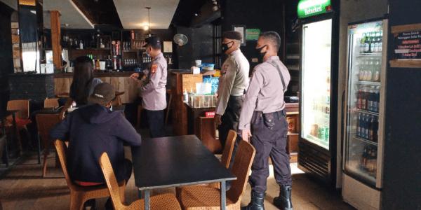 Polresta Pontianak Kota Laksanakan Sosialisasi PPKM Level 3 dan Penegakan Disiplin Prokes