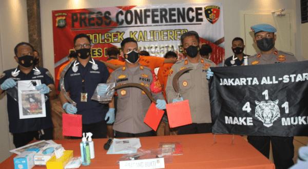 Polsek Kalideres Jakarta Barat Ungkap Kasus Begal
