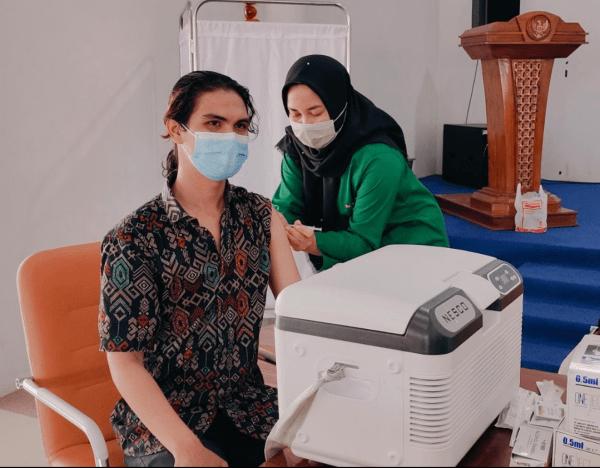 Tokoh Pemuda Kabupaten Mempawah Ajak Generasi Muda Gebyarkan Vaksinasi