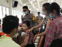 Kata IPTU Imam Widhiatmoko, Kepolisian Mendukung Percepatan dan Perluasan Program Vaksinasi