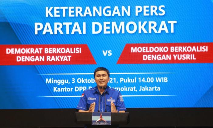 """Demokrat Berkoalisi Dengan Rakyat VS Moeldoko Berkoalisi Dengan Yusril"""""""