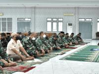 STTAL Gelar Doa Bersama Jelang HUT TNI Ke-76 Tahun 2021