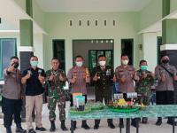HUT TNI ke-76, Koramil Toho Dapat Surprise dari Polsek