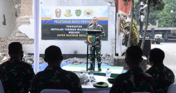 Tahanan Militer Super Maximum Security Dibangun di Pomdam III/Slw