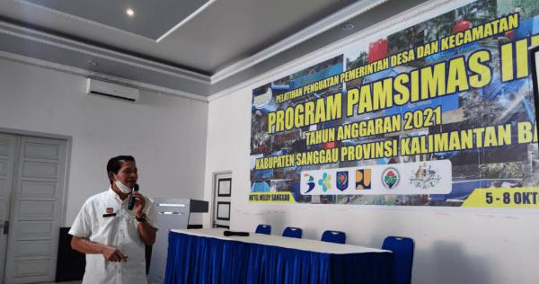 Aparat Desa Diberikan Pelatihan Penguatan Pemerintah, Dalam Program Pansimas