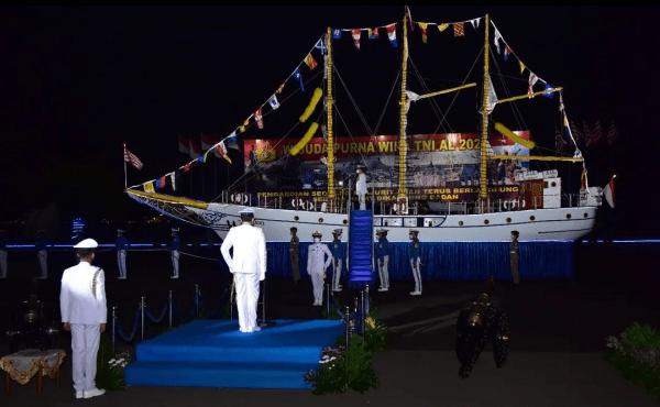 Komandan STTAL Hadiri WPW TNI AL