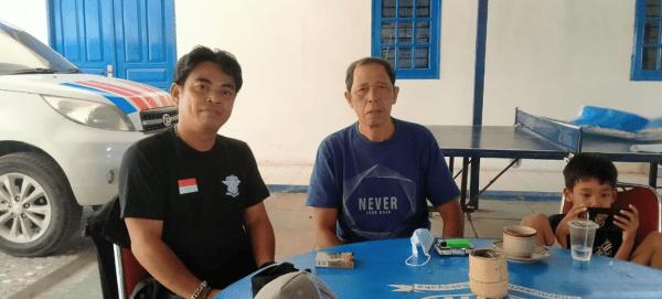 Awak Media Silaturhmi Salah Satu Pesiun Polisi Purnawirawan POLRI Kabupaten Melawi Kalbar