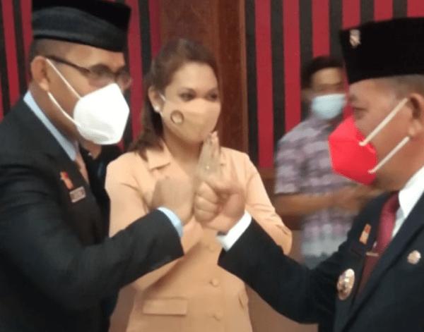 Delapan Pejabat Utama Pemkab Sanggau Dilantik Bupati