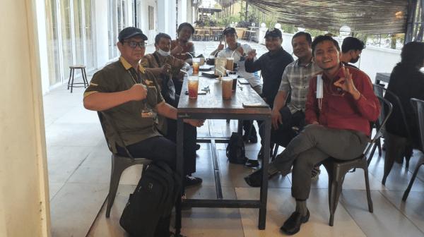 Ketua Komite I DPD RI Fachrul Razi Lakukan Konsolidasi dengan PPWI DPD Sumut di Kota Medan