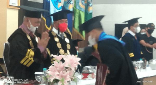 34 Mahasiswa PSDKU Sanggau Diwisuda Dalam Rapat Terbuka Senat Politeknik