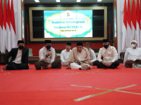 Danrem 061/Sk Bersama Habib Luthfi Hadiri Peringatan Maulid Nabi Muhammad SAW