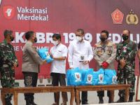 Alumni Akabri 1999 Gelar Bakti Sosial, Vaksinasi Masal dan Kampung Herd Immunity di Pontianak
