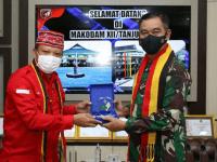 Jalin Silaturahmi, Pangdam XII/Tpr Audensi dengan Pengurus TBBR