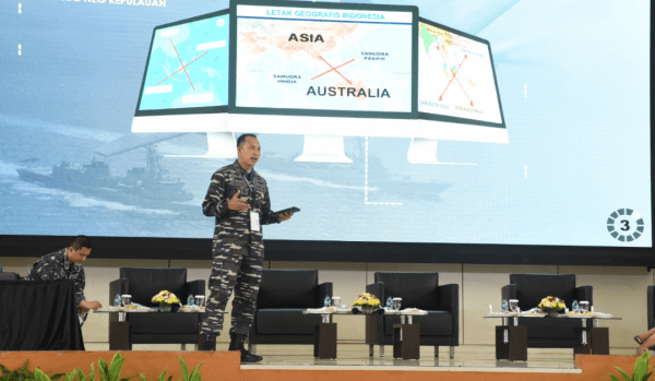 Dirbin Pascasarjana STTAL Mengikuti Seminar Akhir Pasis Dikreg Seskoal Angkatan Ke-59/2021