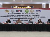 KPK Laksanakan Rakor Pemberantasan Korupsi Terintegrasi di Polda Kalbar