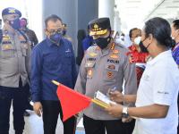 Pimpin Apel Pasukan Sambut Wisman di Bali, Kapolri : Sebagai Gerbang Terakhir Tolong Disiplin