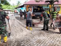 Perkokoh Kemanunggalan Tentara Rakyat, Pasukan Teritorial dan Warga Karbak di SMKN 1 Sungai Kunyit