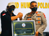 FWJ Indonesia Beri Penghargaan Kepada Kapolda Banten Atas Pelayanan Terbaik Kepada Jurnalis