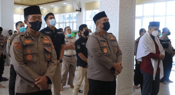 Peringati Maulid Nabi Muhammad SAW, Wakapolda: Jadikan Ini Sarana Untuk Mengintrospeksi Diri